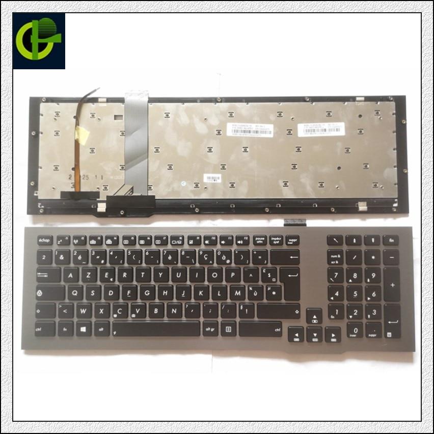 Оригинальная французская Azerty клавиатура с подсветкой для asus rog G75VW G75 G75V G75VX V126262CK2 0KNB0-9414FR00 0KN0-MB2FR11 13424003270 FR