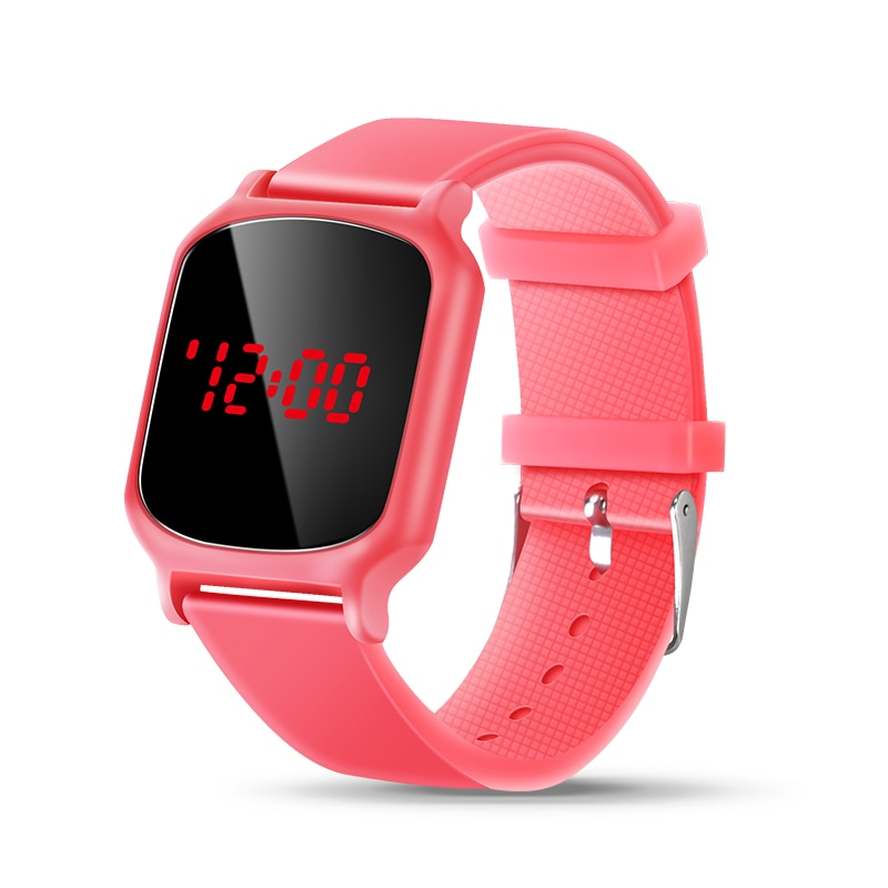 Girls Watch 50m Waterproof Girl Cute Kids Watches Clock Digital LED Children Electronic Watches Kids Wristwatch montre enfant