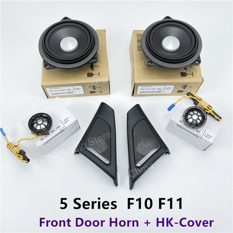 For BMW F10 F11 5 Series harmankardon Audio Head Treble Horn Loudspeaker Music Sound Original Model Tweeter Speakers Covers Fit