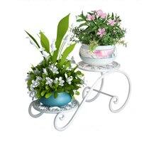 European Flower Rack Multilayer Indoor Table Balcony Window Office Desktop Fleshy Mini Flower Pot