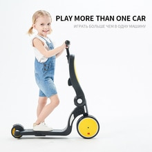 Trottinette multifonction 5 en 1 bébé Yo-yo   Voiture, Trike glissière, personnes peut sasseoir, Tricycle enfants, bicyclette, Andadera Para Bebe