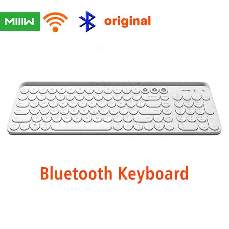 Teclado de modo Dual Bluetooth Miiiw 104 teclas 2,4 GHz multisistema Compatible para xiaomi gaming Office teclado inalámbrico + RUS paste