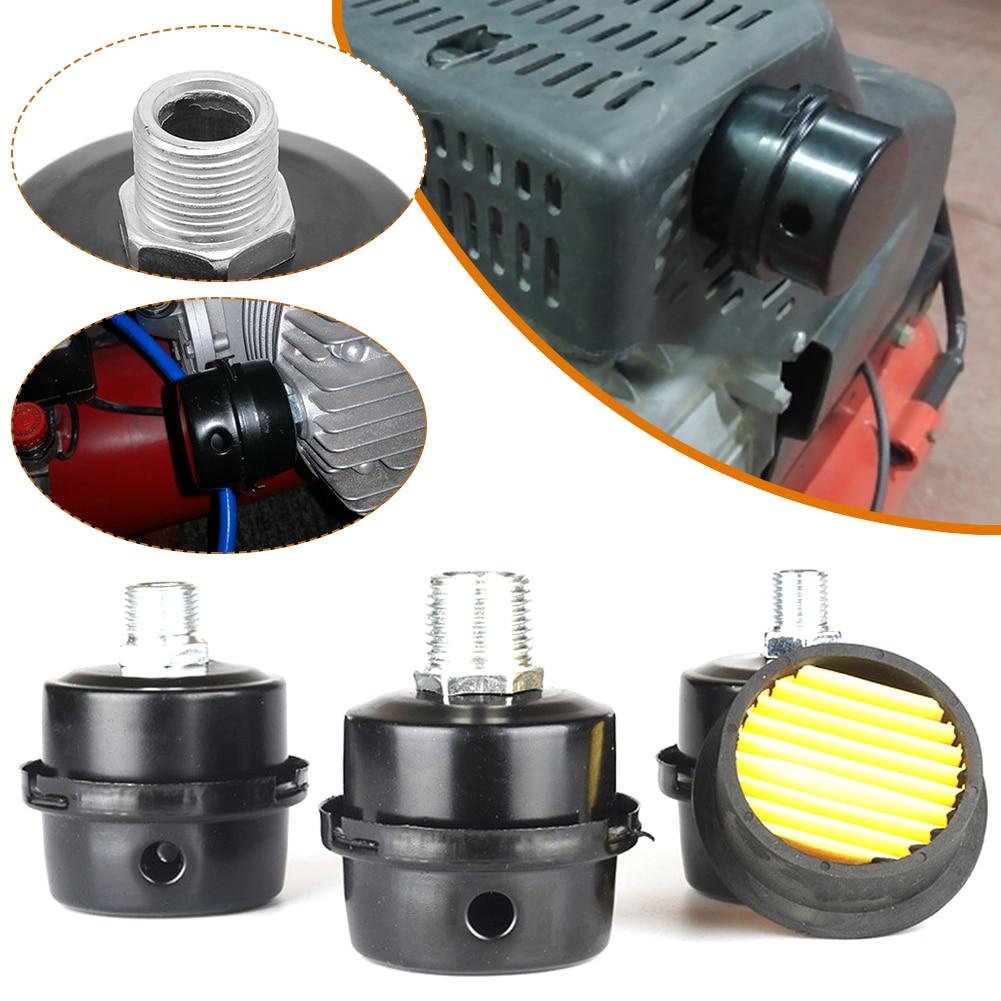 13mm/16mm/20mm Air Compressor Parts Metal Air Compressor Intake Filter Noise Muffler Silencer 1/2'' 5/8