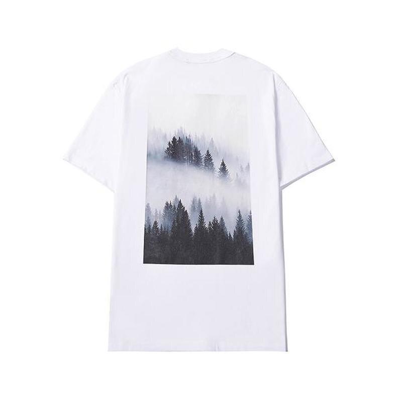 21SS Misty forest Essentials top tees loose fit 100% cotton Essentials tee High street hip hop Essentials t shirts men women