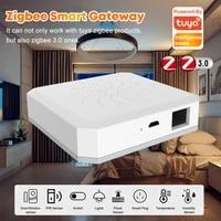 Hub passerelle Intelligent domestique Tuya Zigbee  telecommande filaire  fonctionne avec Google Assistant Home et Alexa