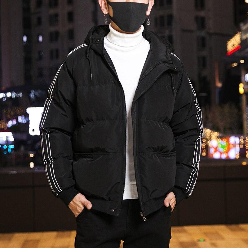 Мужская зимняя куртка с капюшоном Varsanol, Модная парка, мужские зимние теплые куртки, пальто, толстая парка, Мужская ветровка, верхняя одежда, ...