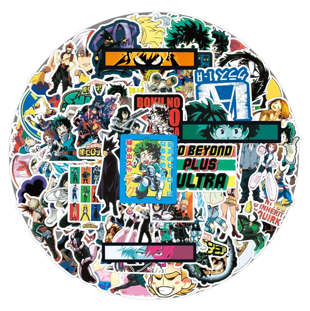 pegatinas-de-anime-de-my-hero-academia-izuku-midoriya-de-skateboard-para-ordenador-portatil-boku-no-hero-academia-de-personaje-10-65-uds