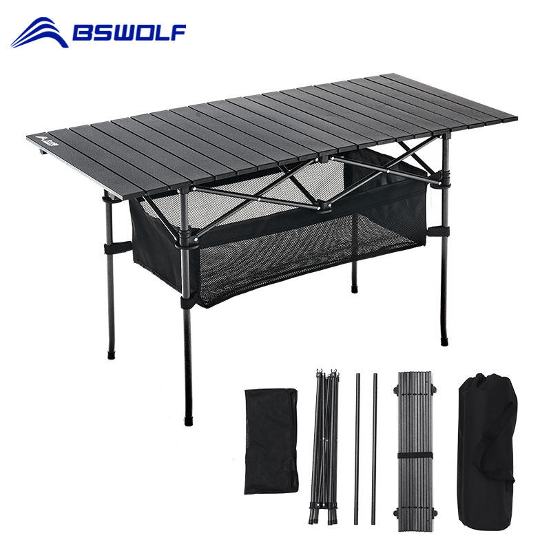 Mesa plegable portátil para acampar al aire libre, mesa de Picnic de...