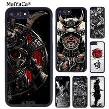 MaiYaCa اليابانية الساموراي اوني قناع Coque غطاء إطار هاتف محمول آيفون 5 6 7 8 زائد 11 برو X XR XS ماكس سامسونج S6 S7 S8 S9 S10