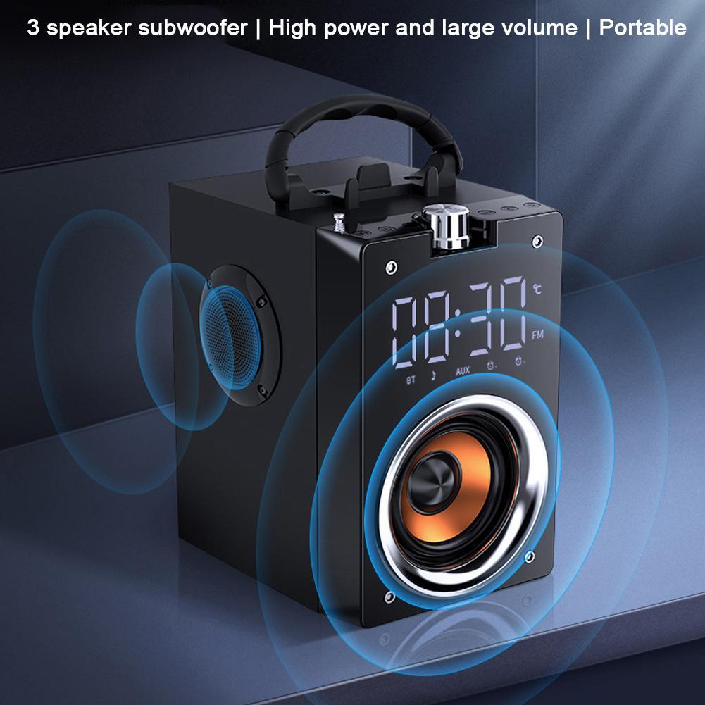 Super Bass Bluetooth Speakers Portable Column High Power 3D Stereo Subwoofer Music Center Support  Speakers   Blutooth Speaker enlarge