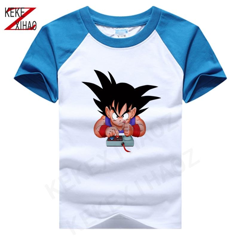 2020 New Summer T Shirt Baby Kids Boy Cotton Short Sleeve O-neck T-shirt Girl Cartoon Print Tee Tops For 2-15years T Shirt Boys недорого