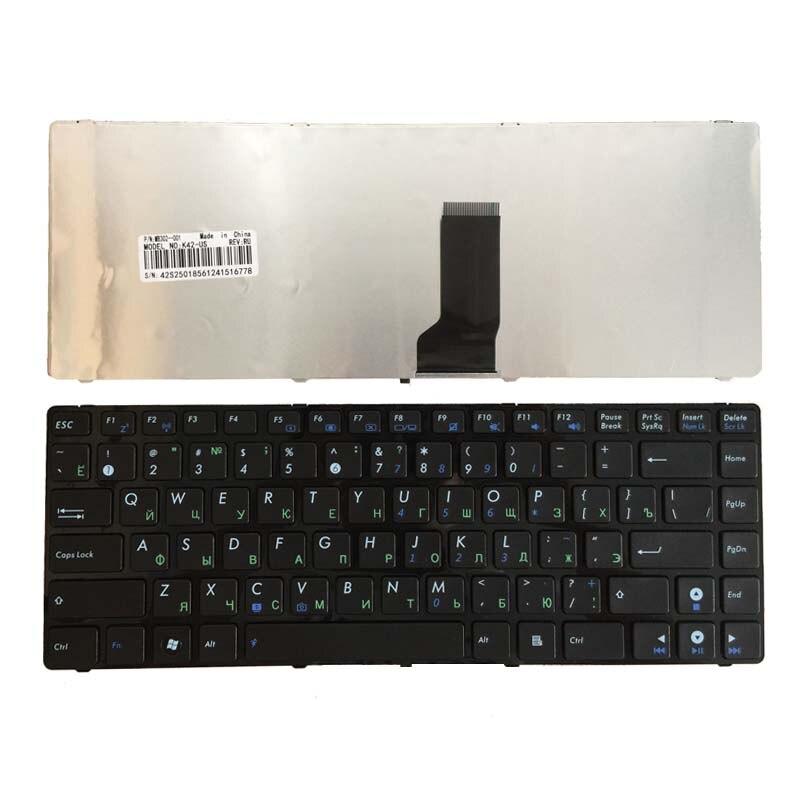 Novo ru teclado russo para asus a44h a44hr a44hy a44l a44ly x44c x44h x44hr quadro do portátil preto