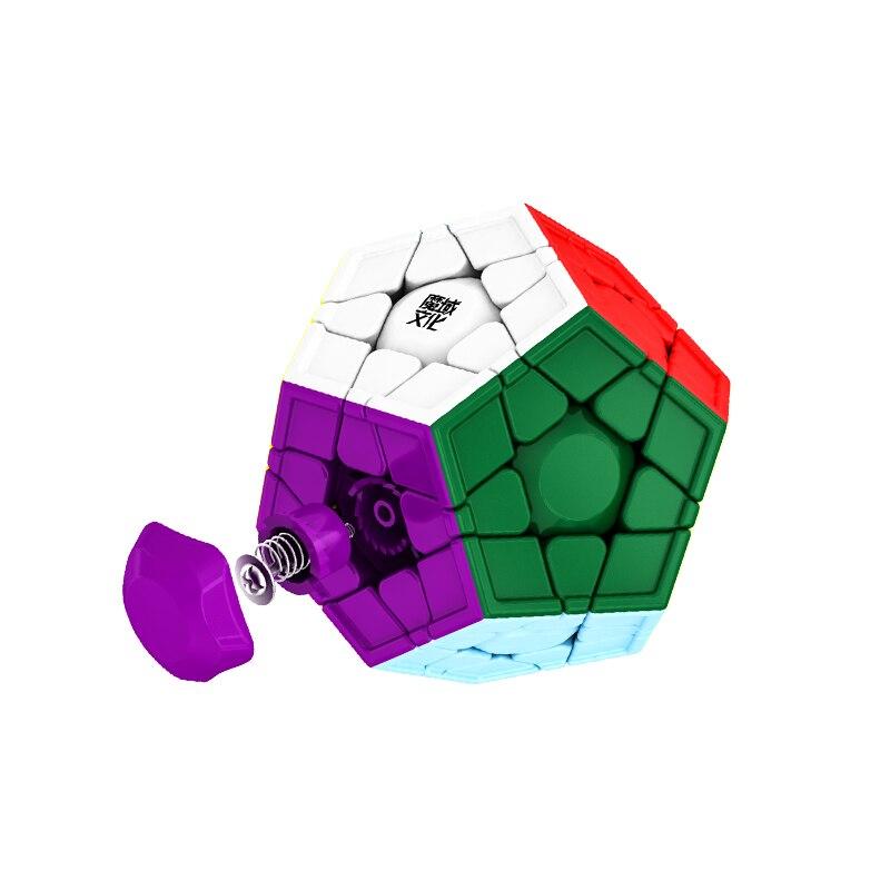 أحدث ألعاب مكعبات سحرية Moyu Aohun WRM 3x3 Megaminx سريعة aohun megaminxads أُحجية مكعبات لعبة Cubo Magico
