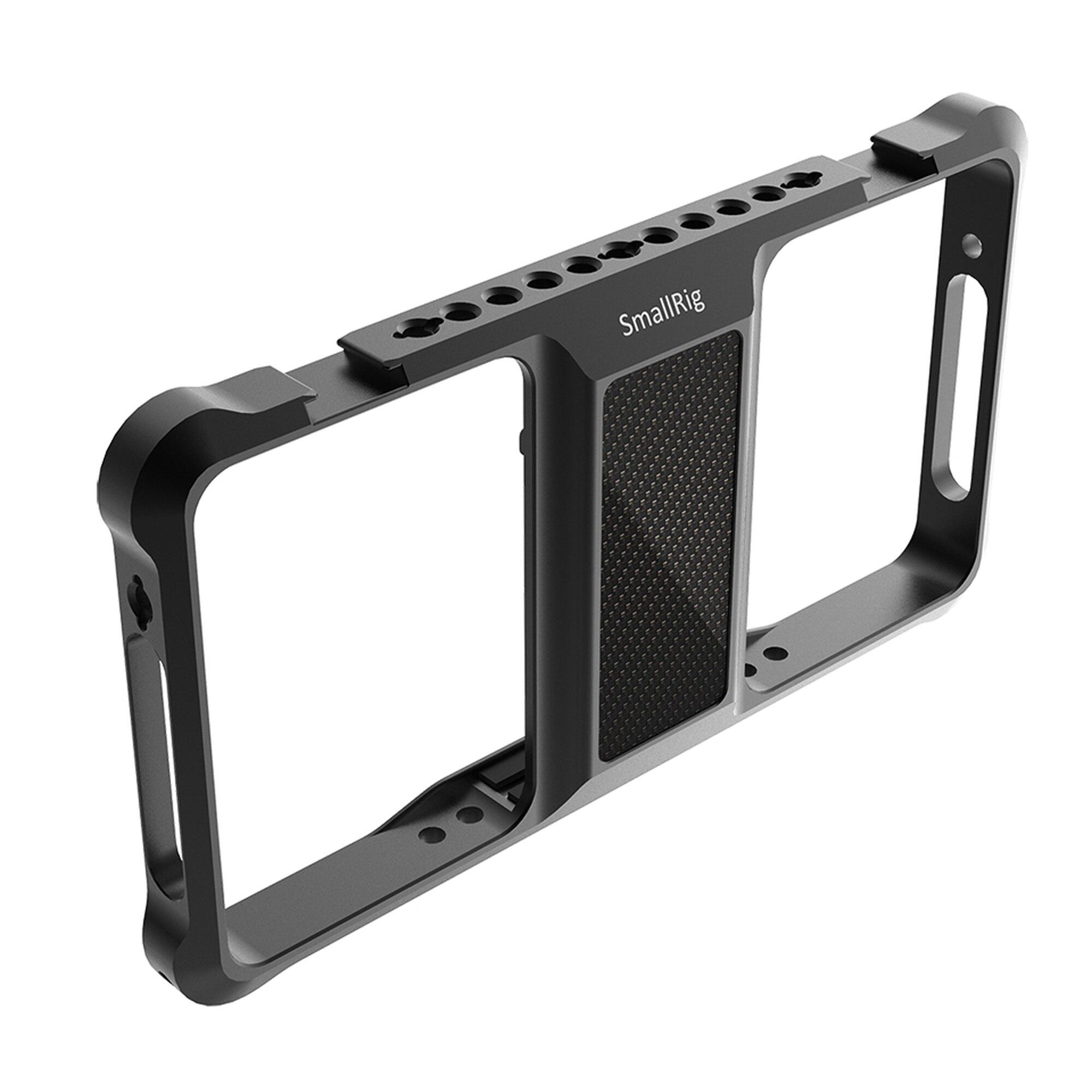 SmallRig Standard Universal Mobile Phone Cage Mobile Phone Holder For Vlogging Vlog Video Rig 2391 enlarge