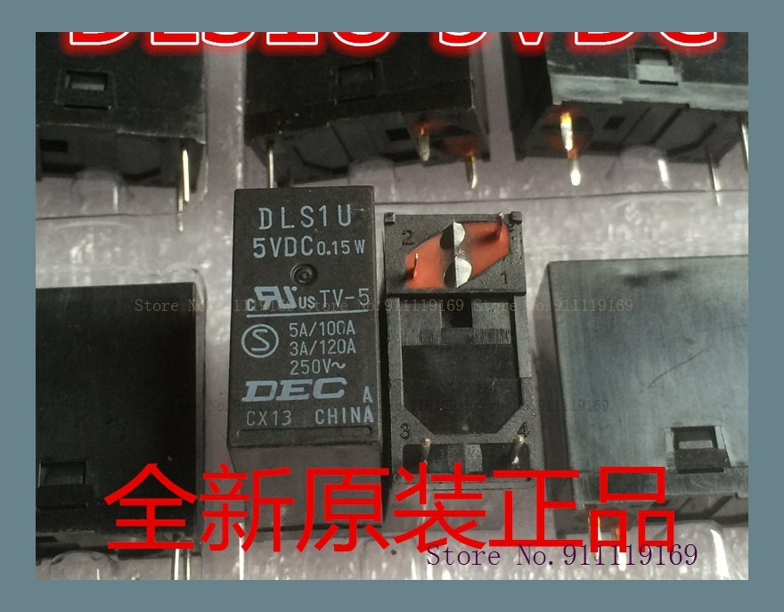 DLS1U DLSIU 5VDC 0,15 W 5V 4