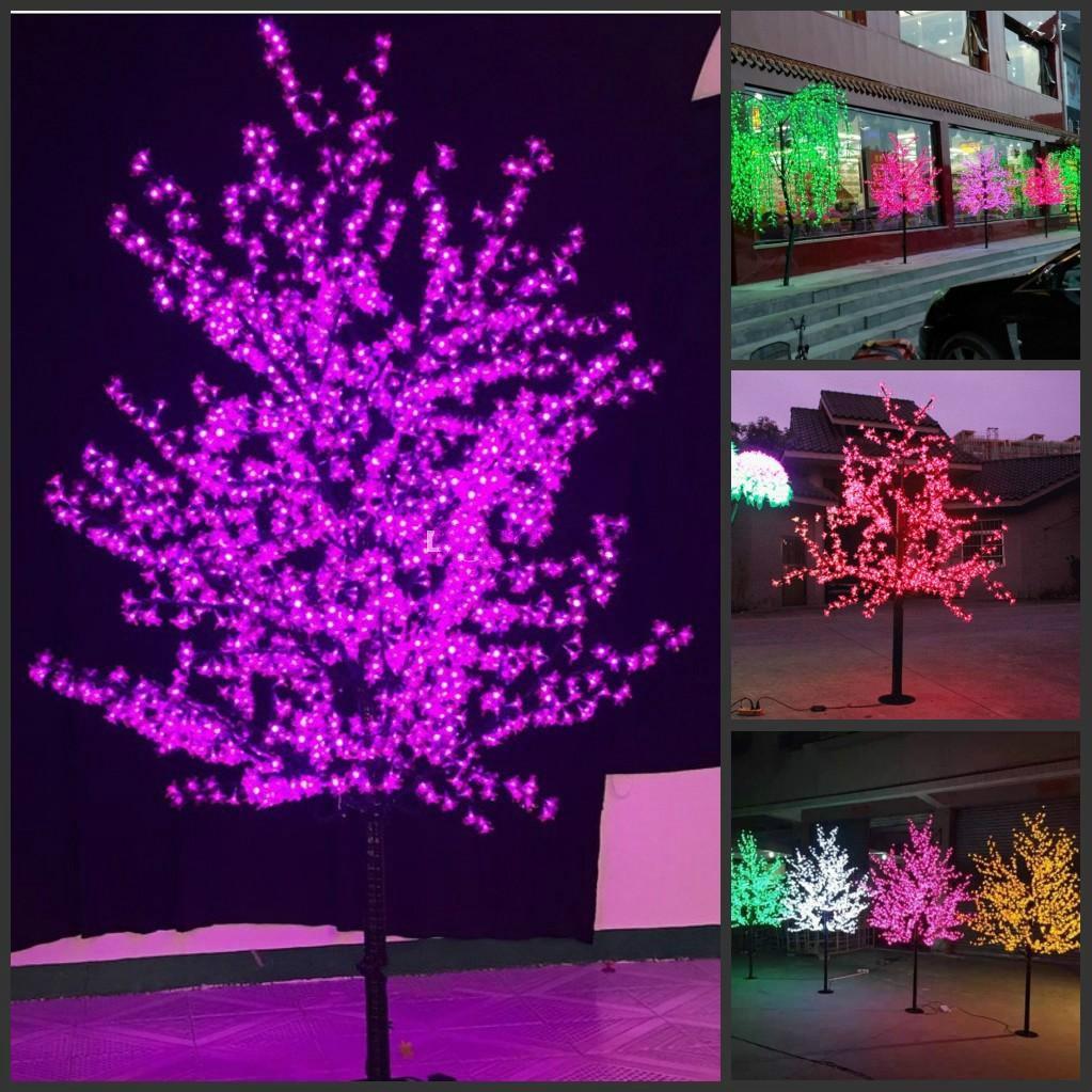 LED عيد الميلاد ضوء شجرة زهر الكرز 480 قطعة LED المصابيح 1.5 متر/5ft ارتفاع داخلي أو خارجي استخدام حر غير نافذ للمطر