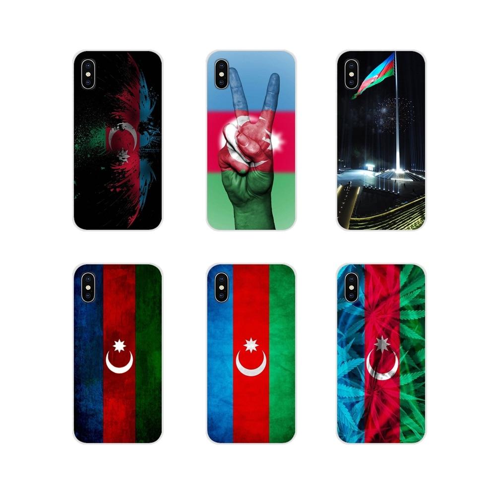 Azerbaiyán Buta accesorios de la bandera cubiertas de los casos del teléfono para iPhone X de Apple XR XS 11Pro MAX 4S 5S 5C SE 6 6S 7 7 Plus ipod touch 5 6