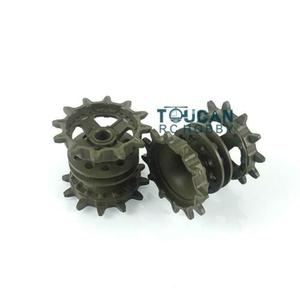 Henglong 3939 1/16 Scale Russian T72 RC Tank Plastic Sprockets Driving Wheels TH16773