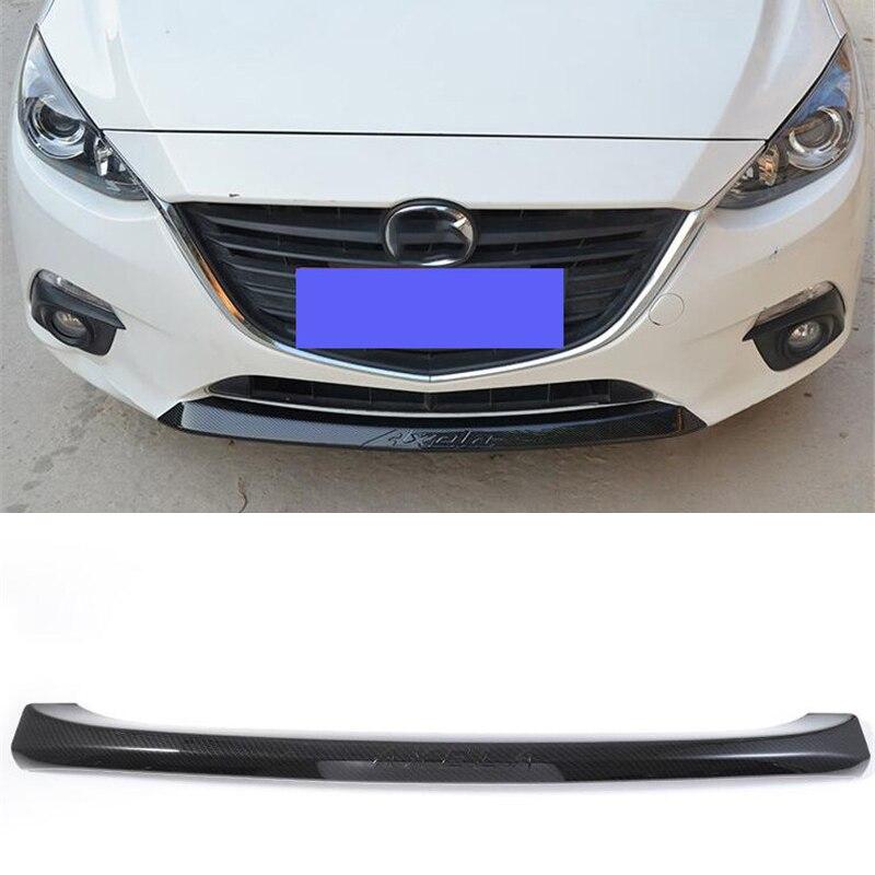 For OLD Mazda 3 ABS Front Bumper Trim Strip Separator Mazda3 M3 CAR Decoration Collision Prevention