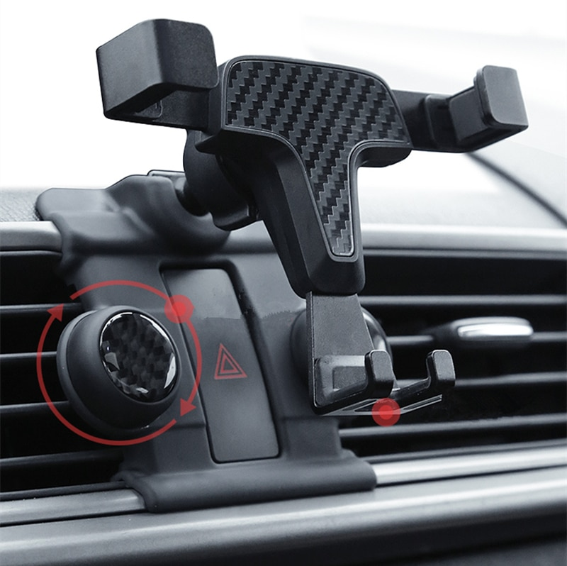 Gravidade Suporte Suporte para Carro Para O Telefone Móvel Celular Painel Air Vent Clipe do Suporte de Montagem Para Mazda Axela 2014 2015 2016 2017 2018