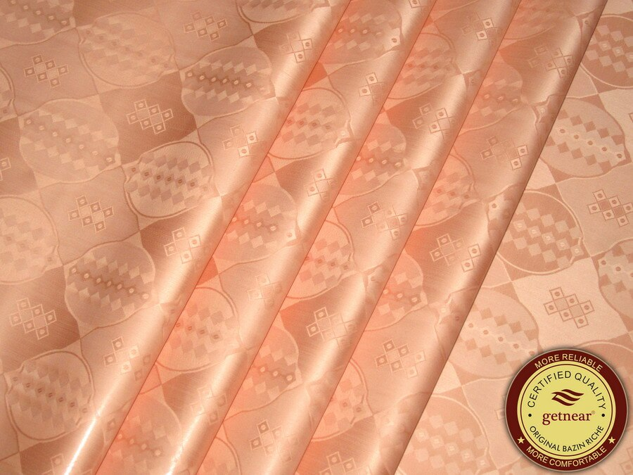 Bazin Riche tela Calidad de Alemania 10 yardas/bolsa brocado de Guinea (Similar a Getzner) 100% algodón Shadda con Perfume Damask BEITEX