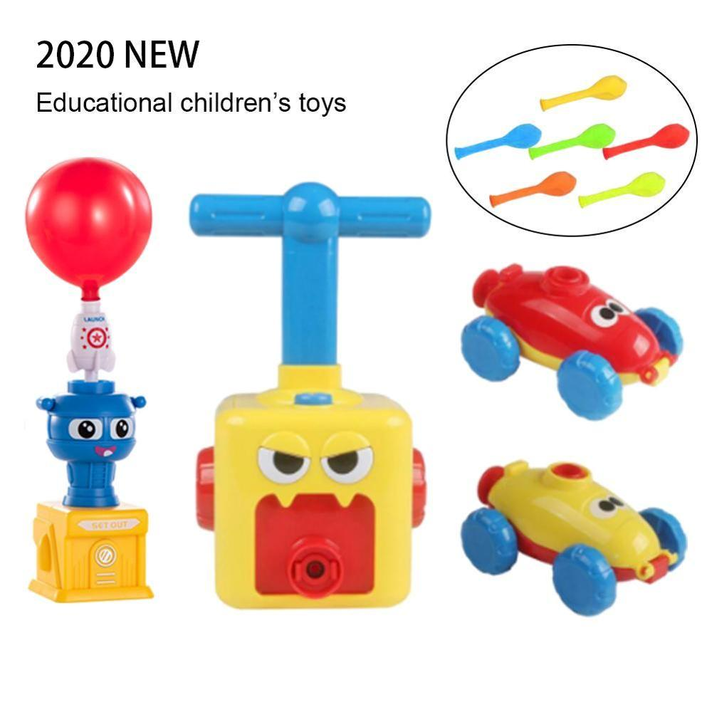 2020 New Upgraded Version Of Astronauts Flying Meteorological Ball And Inertial Balloon Powered Car Toys Children'S Toys For All