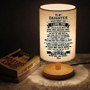 Mom To My daughter Graduation Birthday Present Send Reading Lights, Booklights He Will Continue Beautiful Gift Forever And Alway