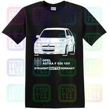 Gt-shirt Opel Astra F 2.0 GSi 16V C20XE 91-94 t-shirt t-shirt