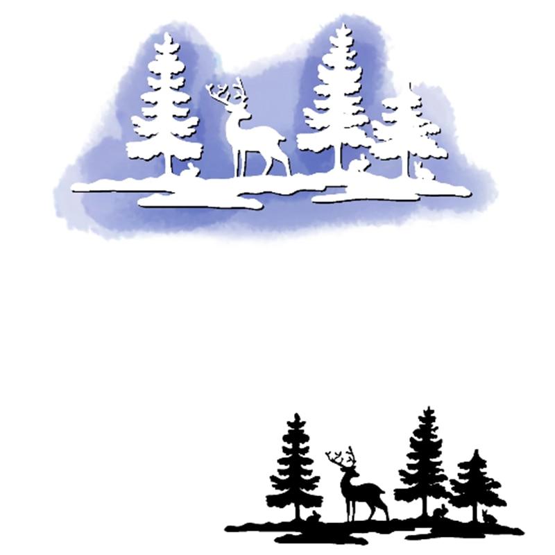 Inloveearts-troqueles de corte navideño, troqueles de corte de Navidad para manualidades, plantilla...