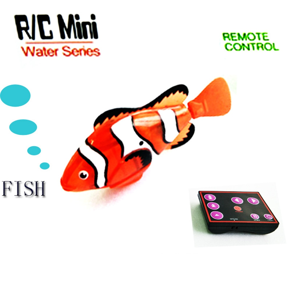 Remote Control Simulation Fish Toys Underwater Submarine Toy Ocean Bottom Animal Fish Model Puzzle RC Toys for Children enlarge