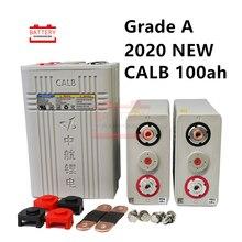 Garde A CALB 3.2v 100ah Lifepo4 batterie 12v100AH Lithium fer phosphate piles nouvelles ca100 plastique pour solaire RV pack 24V