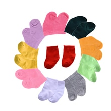 Promotion!15Colors Socks Fit 18 Inch American &43 CM Baby Doll Clothes Accessories,Girl's Toys,Gener