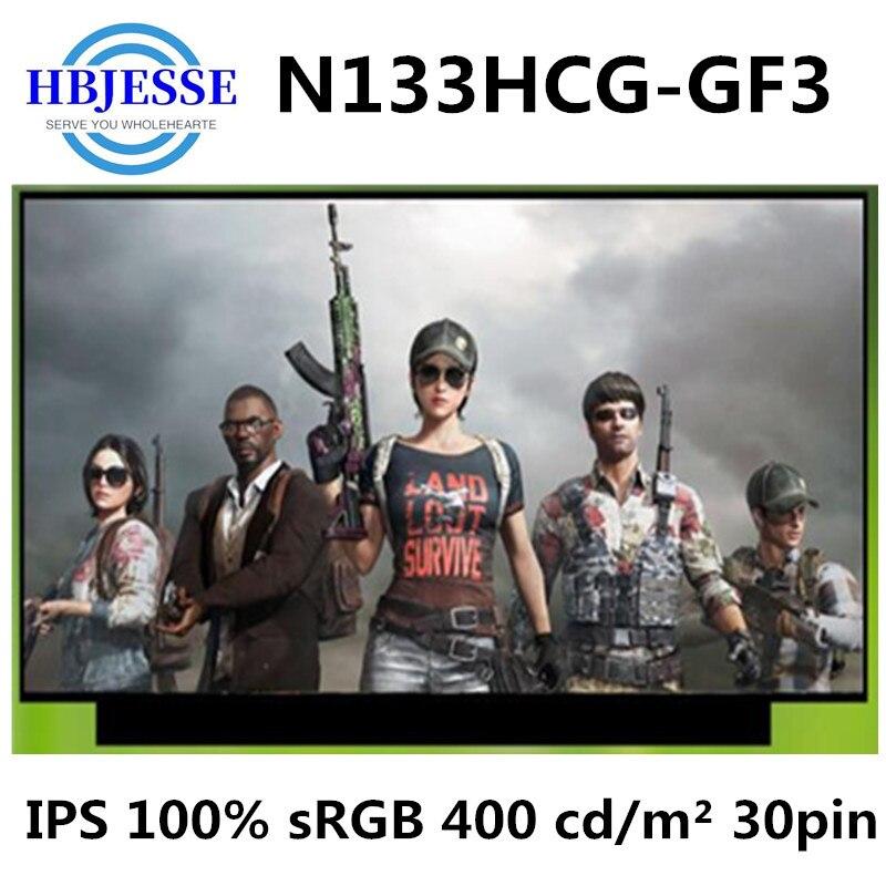 Original nouveau 13.3 N133HCG-GF3 IPS 100% sRGB luminosité 400 cd/m² écran daffichage LCD matrice eDP 30 broches FHD brillant