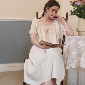 Sleepwear Women  Summer Nightgown Sleepshirt