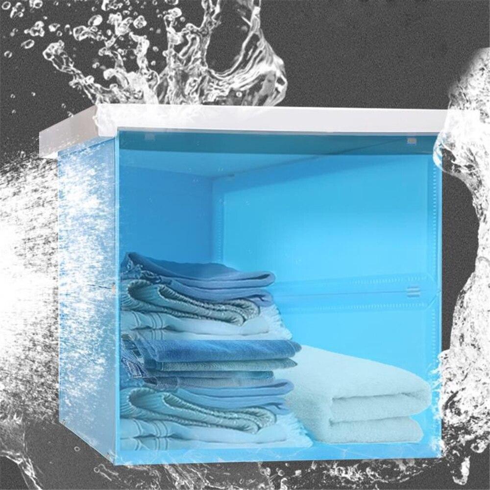 1 Pcs New Hidden Bathroom Locker Wardrobe Folding Mural Storage Cabinet Shelf Storage Artifact Suitable For Living Room Bathroom