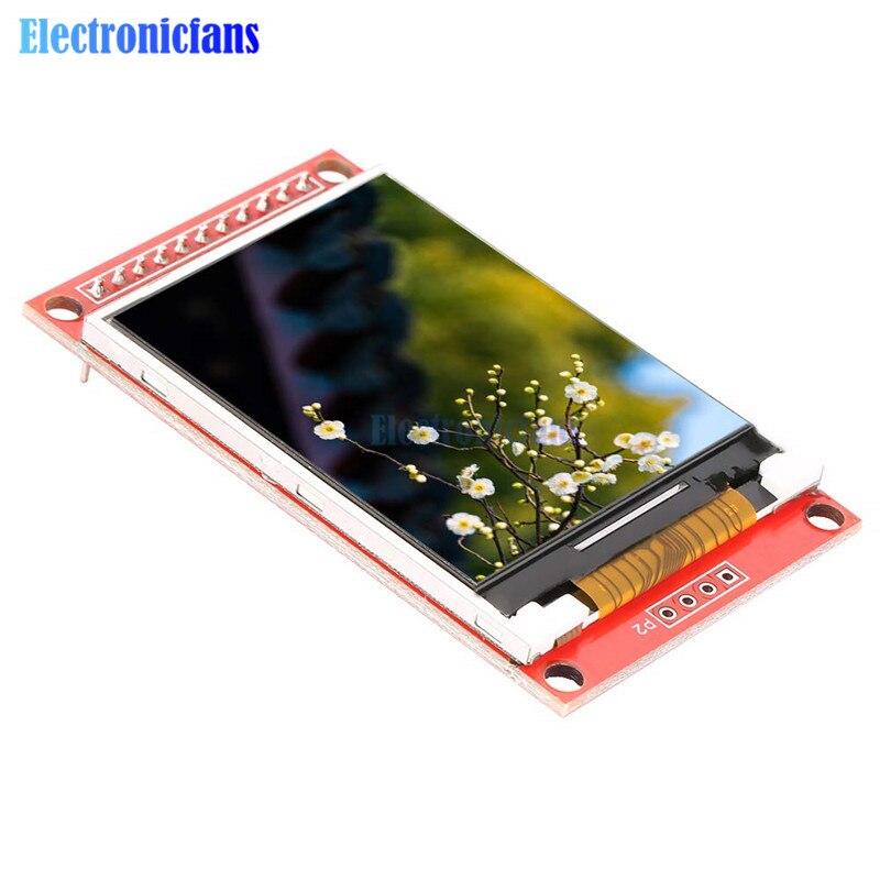 2,0 pulgadas ILI9225 módulo TFT LCD módulo de interfaz Serial SPI 176*220 soporte mínimo de ocupación 3/5. 5V fuente de alimentación 4 IO