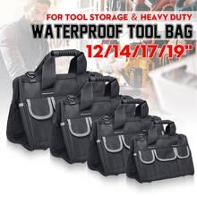 12/14/17/19 Inch Oxford Gereedschapstas Waterdichte Hand Tool Opbergtas Elektricien Zakken Grote Capaciteit Tool Organizer pouch Bag Case