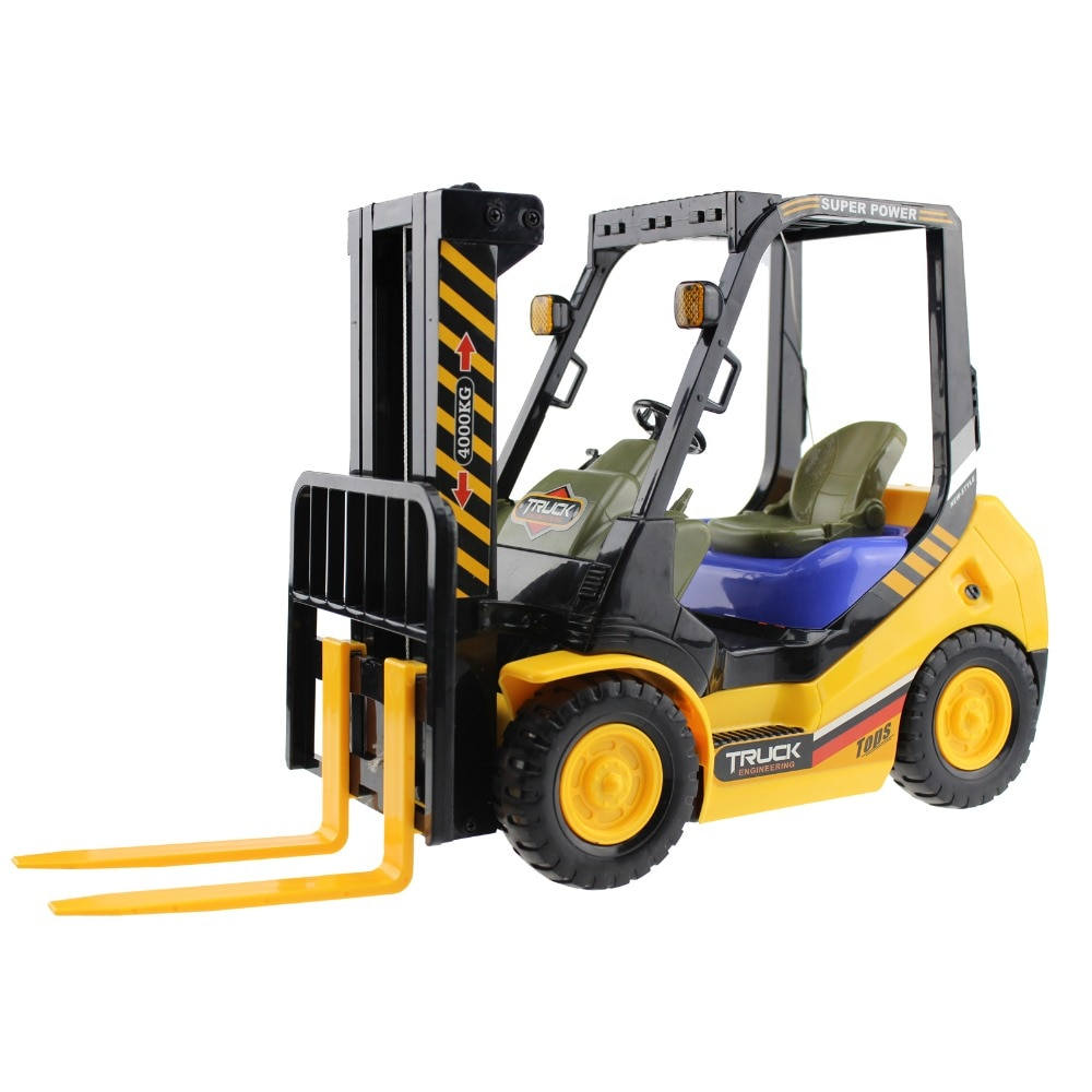 RC Truck Forlift 2.4G 4WD 6CH Remote Control Fork Shovel Truck Lift Pallets Engineering Vehicle Model Electronic Hobby Toys enlarge