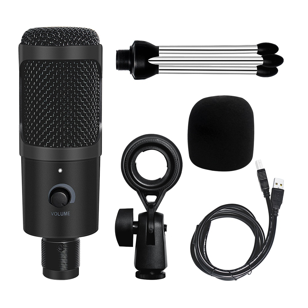 Professional USB Microphone K669 Metal Condenser Microphone For PC Computer Gaming Youtube Recording Studio Streaming enlarge