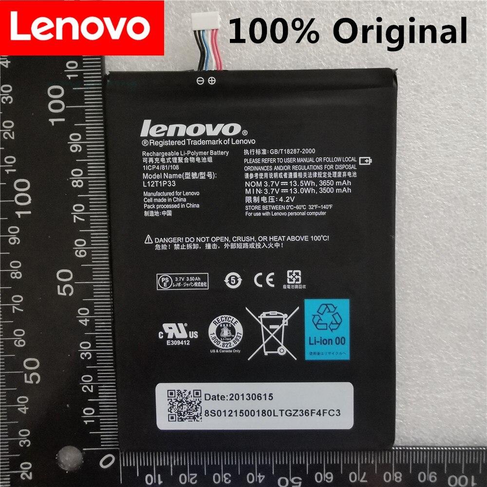 100% Оригинальная батарея 3650mAh L12D1P31 для Lenovo IdeaTab lepad A1000 A1010 A5000 A3000 A3000-H батарея