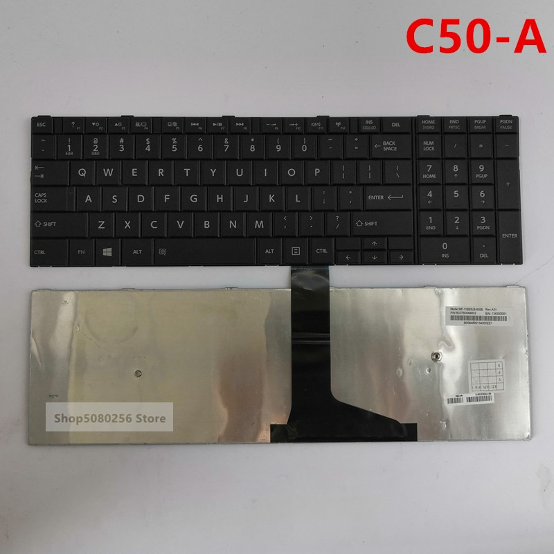 (95% Новинка) английская Клавиатура США для Toshiba Satellite C50D C50-A C50-A506 C50D-A C55 C55T C55D C55-A C55D-A Клавиатура для ноутбука