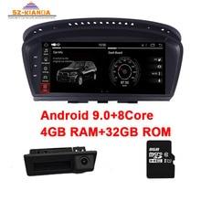 4G Ram + 32G Rom Android 9,0 Auto-multimedia-player für BMW 5 Series E60 E61 E63 E64 e90 E91 E92 CCC CIC Unterstützung iDrive Radio GPS