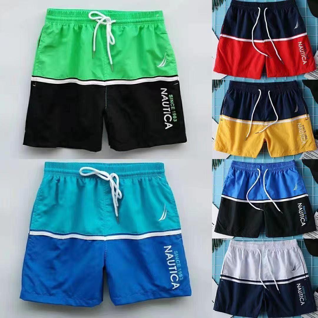 Летние мужские шорты 2021, мужские спортивные шорты для спортзала, бега, спорта, фитнеса, пляжа, баскетбола, бега, мужские свободные короткие б...