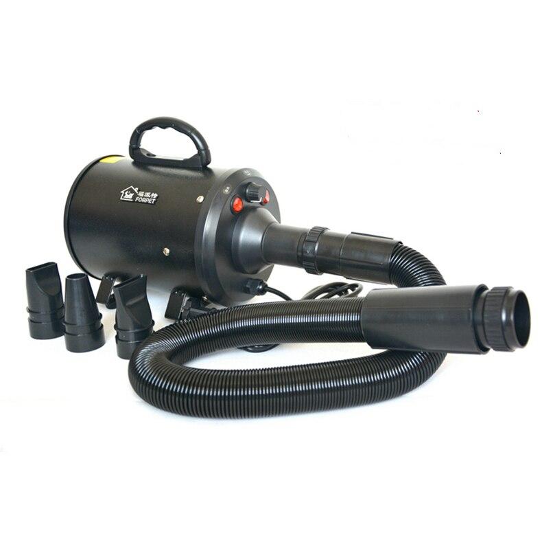 Água do Animal de Estimação Sopra a Máquina Secador de Cabelo do Cão Sopra o Secador de Cabelo Fontes do Gato Quente Frio 220v 2000w Asciugatrice Que ar –