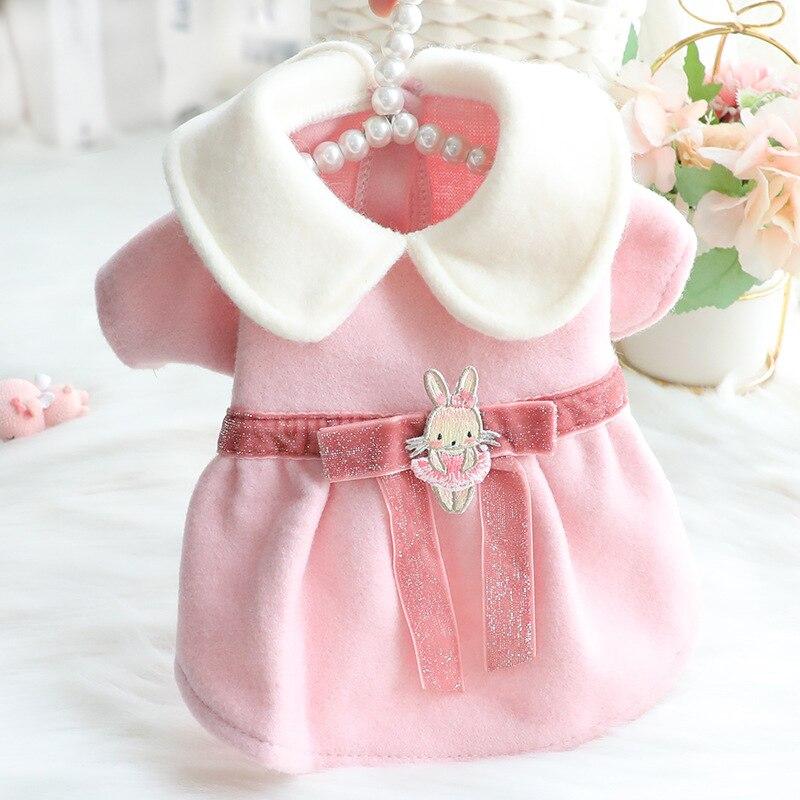 Ropa de Ballet de conejo Para mascota, vestidos de princesa de dibujos...