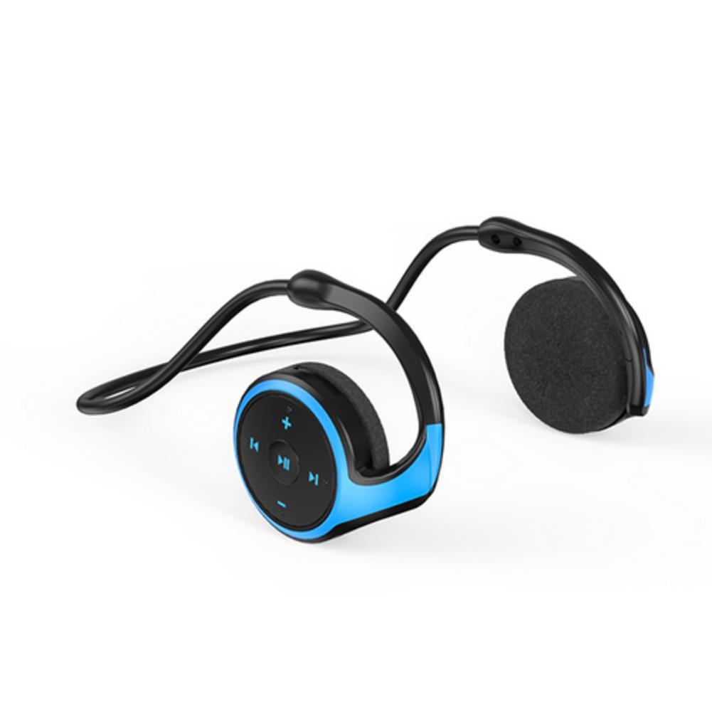 2020 NEW A23 Bluetooth Wireless Headphones Sport Headset MP3 Player With FM Radio Earphones Bluetooth 5.0 Earphone Black/blue