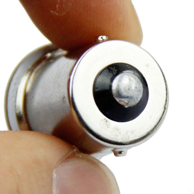 4x P21W 1157 BAY15D 1156 Ba15S Car LED Light Signal Bulb COB Super Bright Auto Turn Tail Reverse Parking Brake Lamp 12V 12SMD