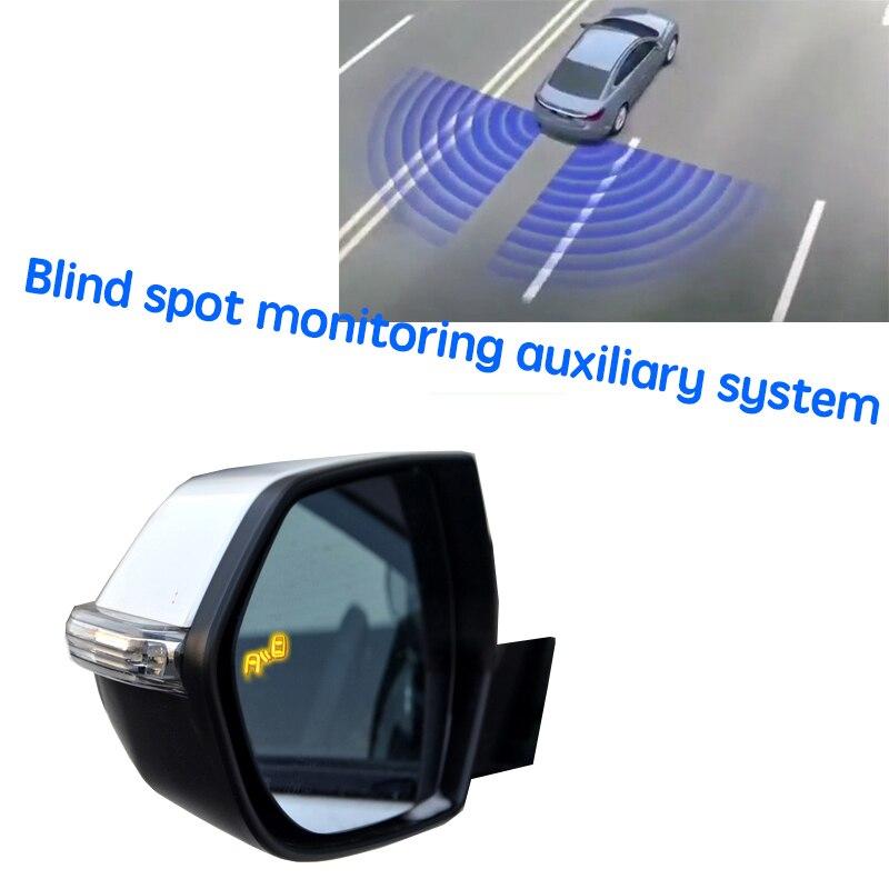 نظام الكشف عن الرؤية الخلفية للرادار للسيارة BSD BSM BSA لتحديد المناطق العمياء بالمرآة من أجل Yusheng S330 2014 ~ 2020