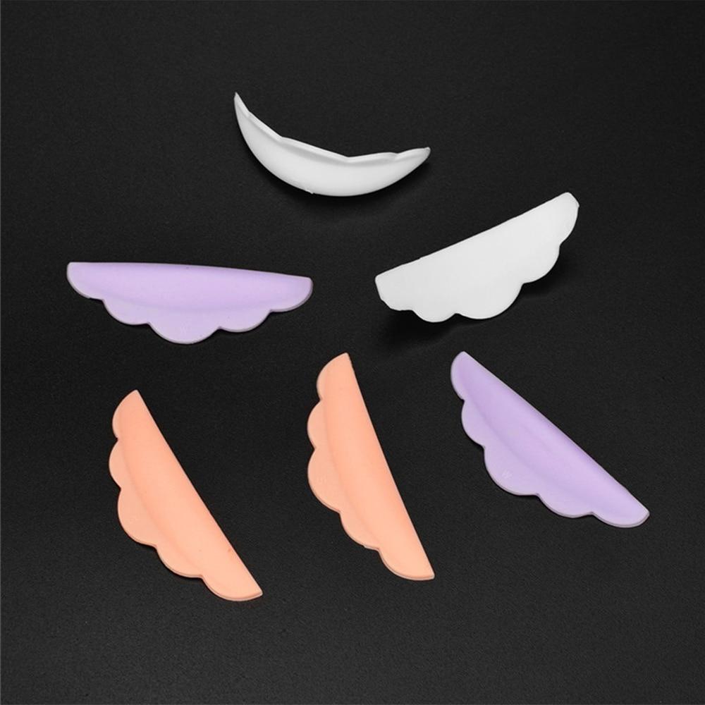 3 pary gorących rzęs specjalna łatka do mieszania kolorów gorąca silikonowa uszczelka do rzęs może być naprawiona do podnoszenia tacka