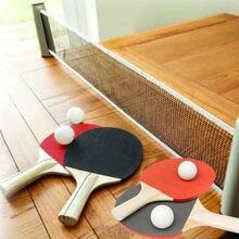 Ensemble de remplacement de jeux dintérieur de Kit de filet portatif de Ping-Pong rétractable de Ping-Pong